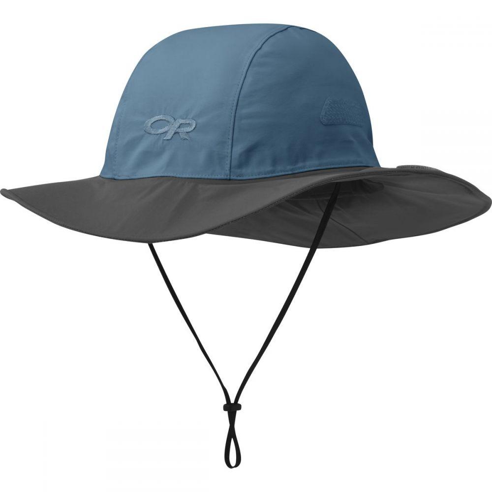 アウトドアリサーチ Outdoor Research レディース ハット ソンブレロ 帽子【Seattle Sombrero】Peacock/Dark Grey
