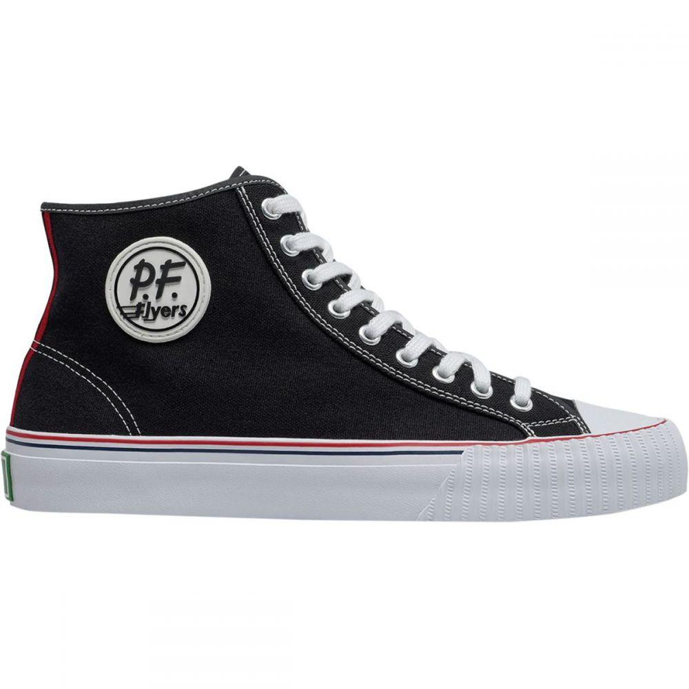 ピーエフフライヤー PF Flyers メンズ スニーカー シューズ・靴【Center Hi Shoe】Black/White