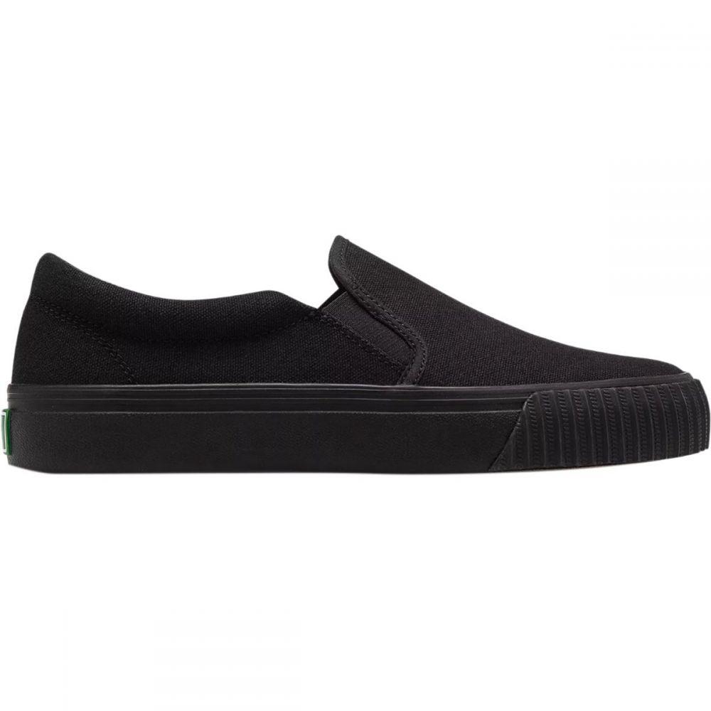 ピーエフフライヤー PF Flyers メンズ スリッポン・フラット シューズ・靴【Center Lo Classic Slip On Shoe】Black/Black
