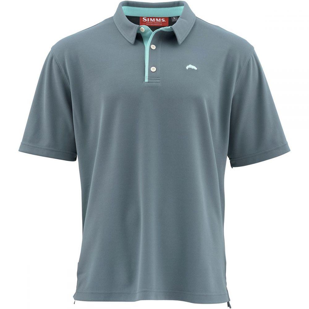 シムズ Simms メンズ ポロシャツ トップス【Polo Shirt】Storm