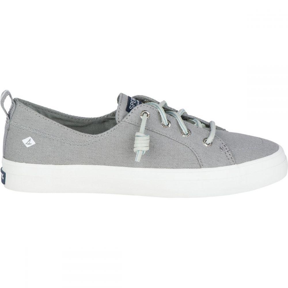 スペリー Sperry Top-Sider レディース シューズ・靴 【Crest Vibe Linen Shoe】Grey