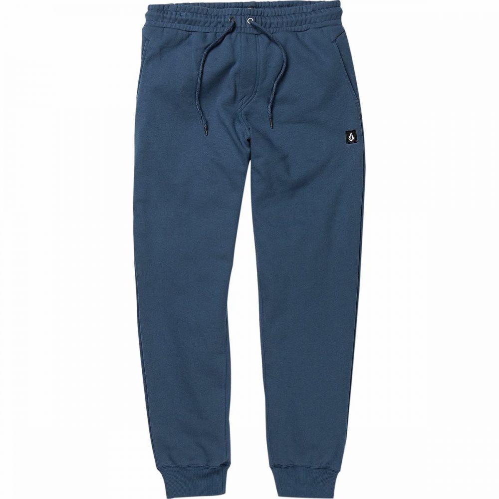 ボルコム Volcom メンズ スウェット・ジャージ ボトムス・パンツ【Single Stone Fleece Pant】Smokey Blue