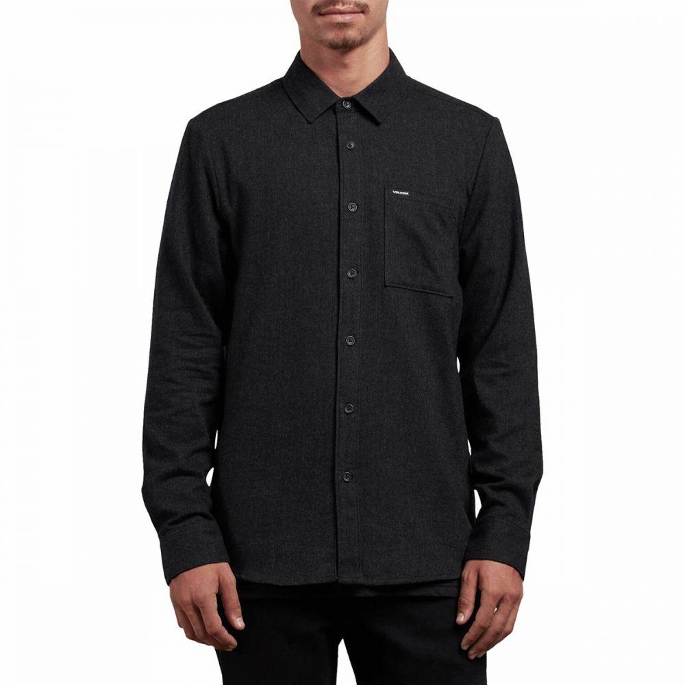 ボルコム Volcom メンズ シャツ トップス【Caden Solid Shirt】Black