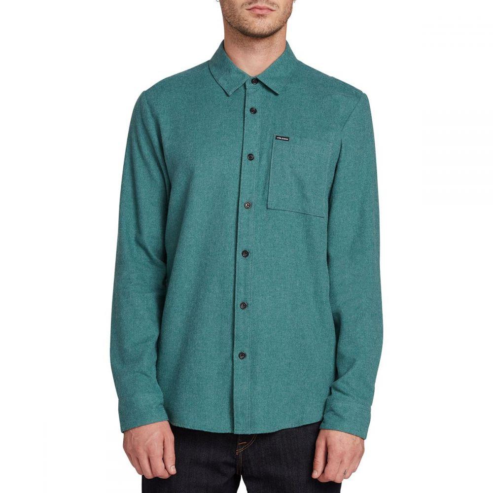ボルコム Volcom メンズ シャツ トップス【Caden Solid Shirt】Mediterranean