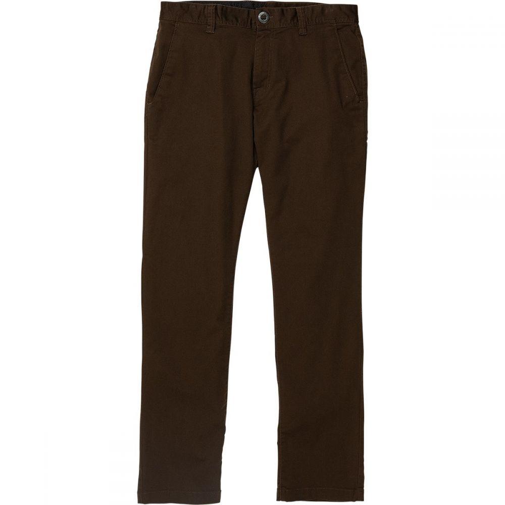 ボルコム Volcom メンズ チノパン チノパン ボトムス・パンツ【Frickin Modern Stretch Chino Pant】Dark Chocolate