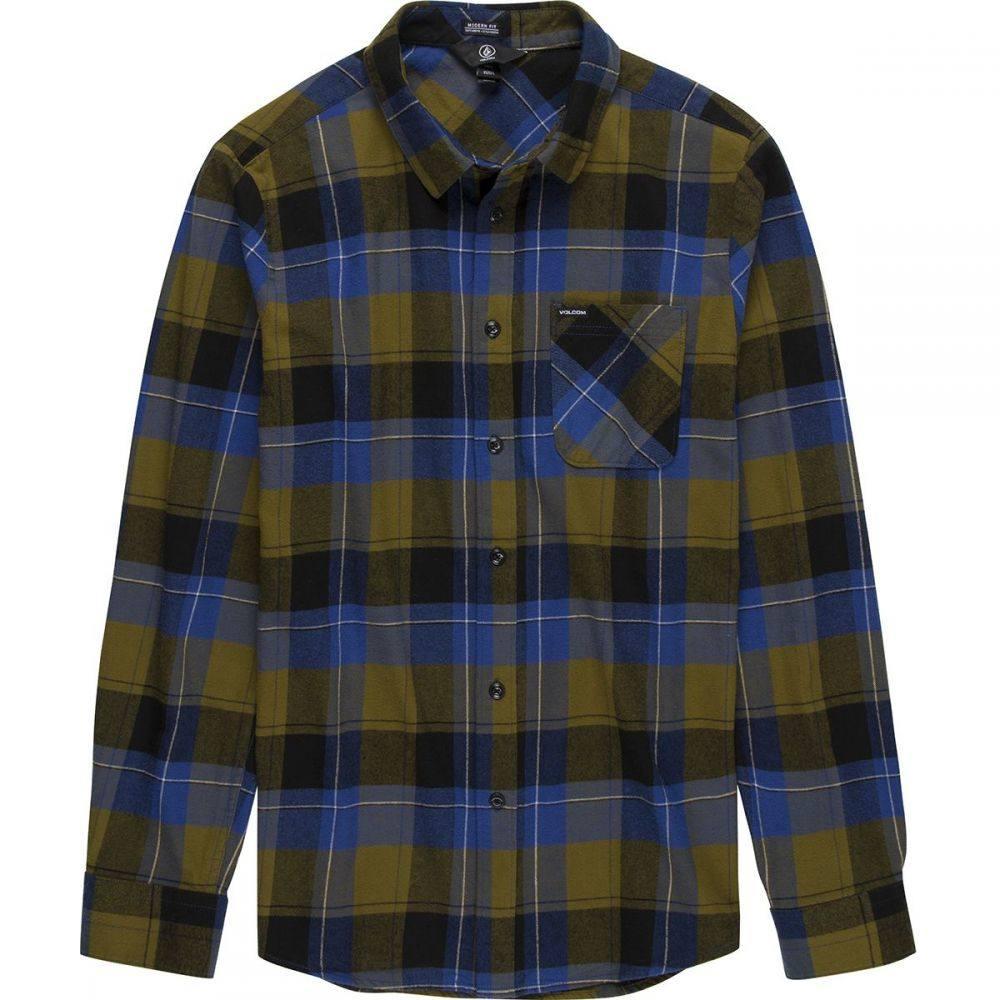 ボルコム Volcom メンズ シャツ トップス【Caden Plaid Shirt】Sonic Green