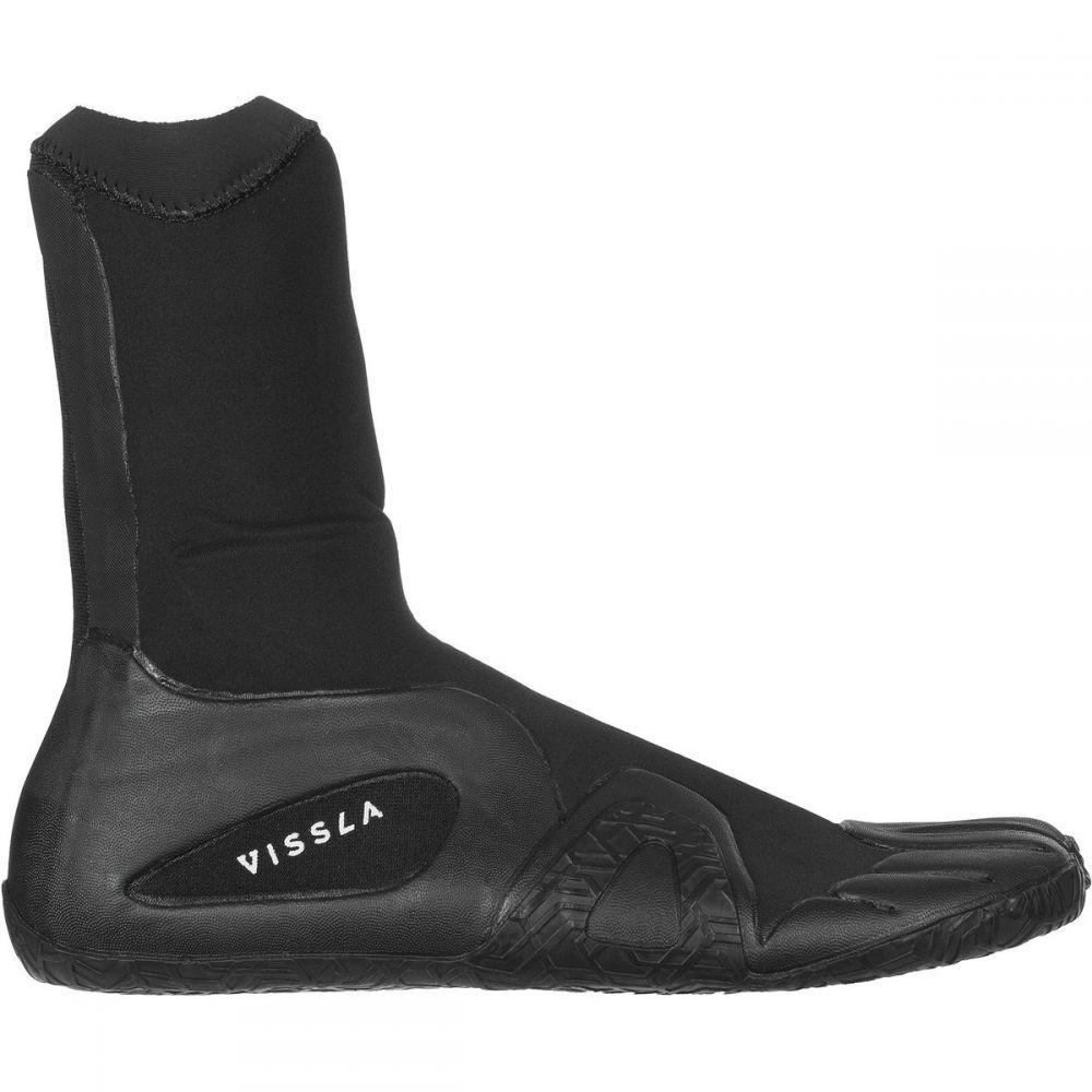 ヴィスラ Vissla メンズ サーフィン シューズ・靴【7 Seas 3mm Split Toe Bootie】Black