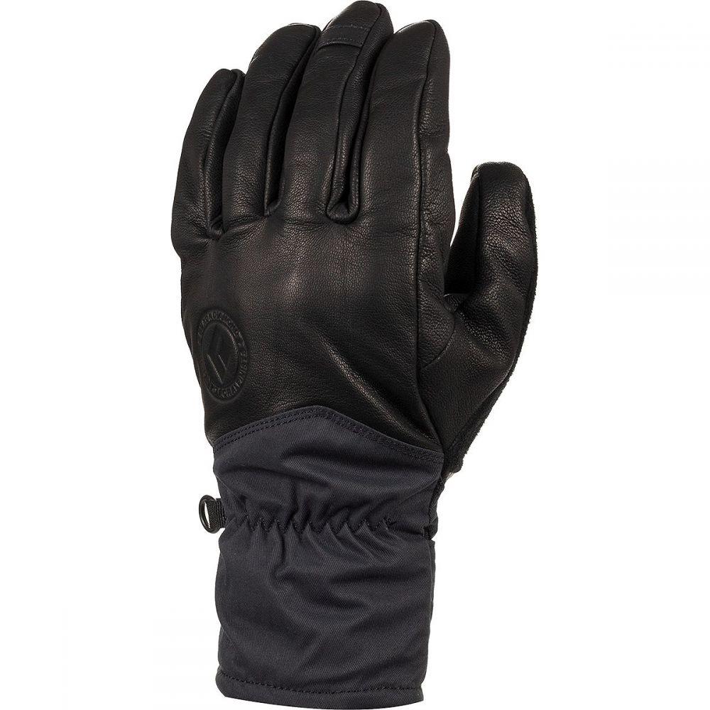 バックカントリー Backcountry レディース 手袋・グローブ 【x Black Diamond Hot Lap Glove】Black Leather