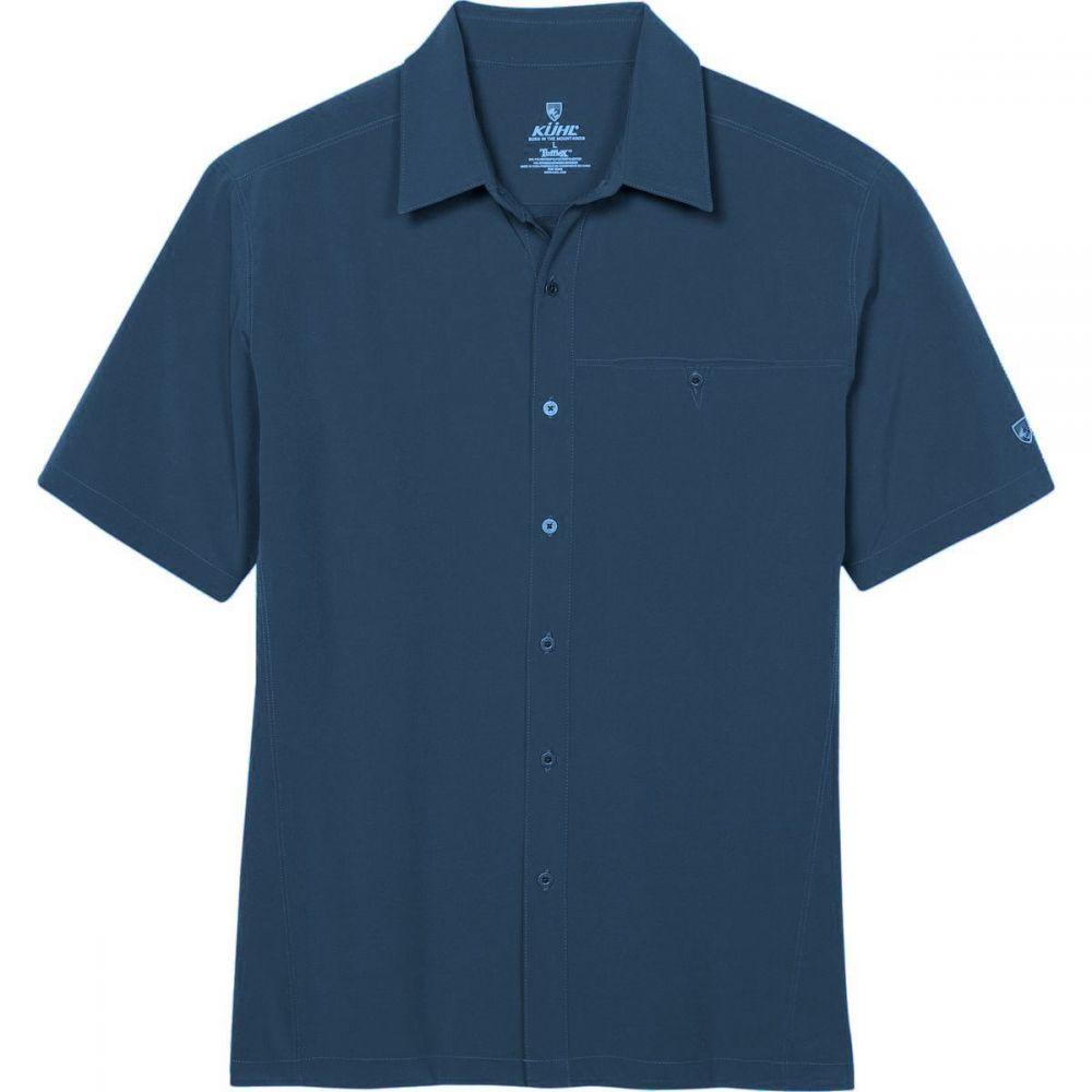 キュール KUHL メンズ 半袖シャツ トップス【Renegade Shirt】Pirate Blue