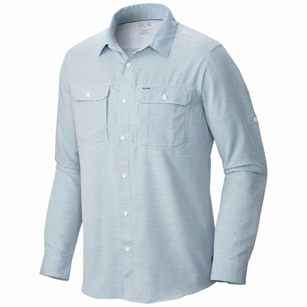 マウンテンハードウェア Mountain Hardwear メンズ シャツ トップス【Canyon Long - Sleeve Shirt】Phoenix Blue
