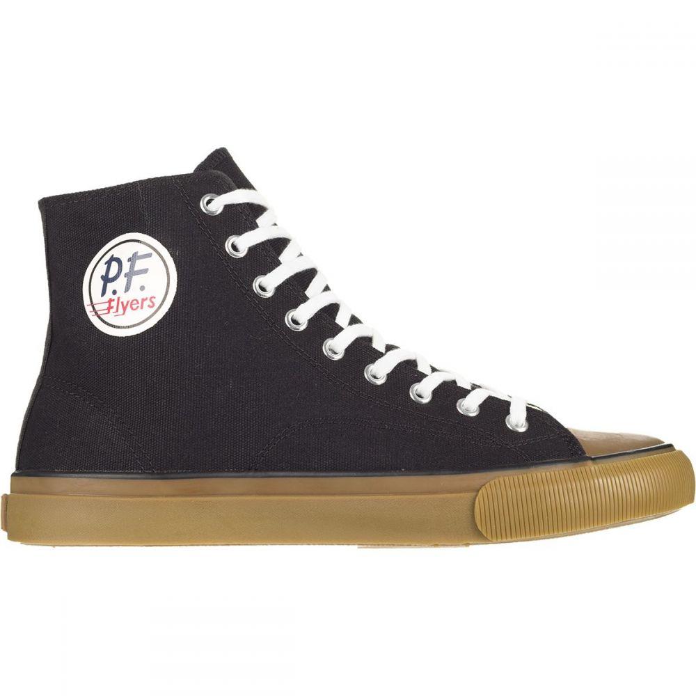 ピーエフフライヤー PF Flyers メンズ スニーカー シューズ・靴【All American Hi Shoe】Black/Gum