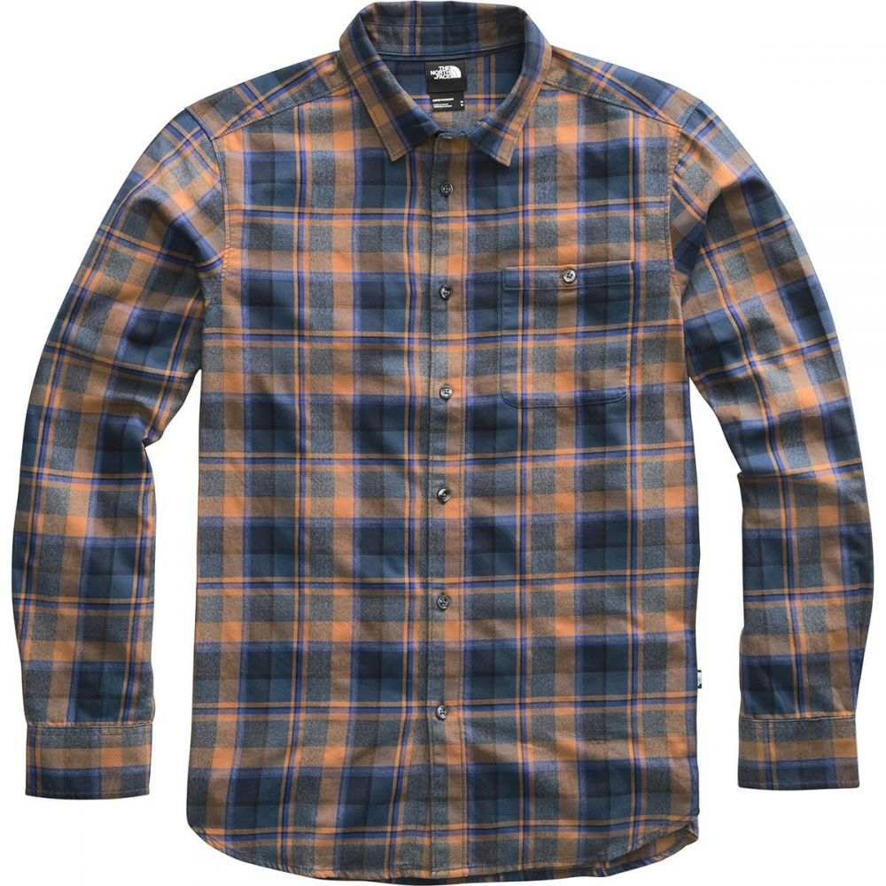 ザ ノースフェイス The North Face メンズ シャツ トップス【Hayden Pass 2.0 Long - Sleeve Shirt】Cedar Brown Rogan Plaid