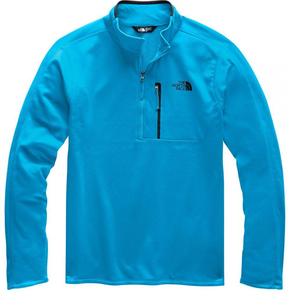 ザ ノースフェイス The North Face メンズ フリース ハーフジップ トップス【Canyonlands 1/2 - Zip Pullover Fleece Jacket】Acoustic Blue