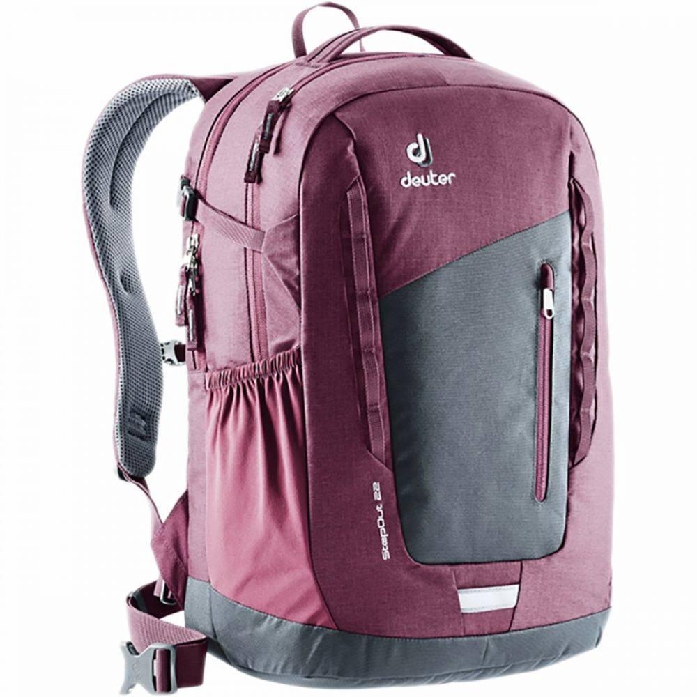 ドイター Deuter レディース バックパック・リュック バッグ【Stepout 22L Backpack】Graphite/Maroon
