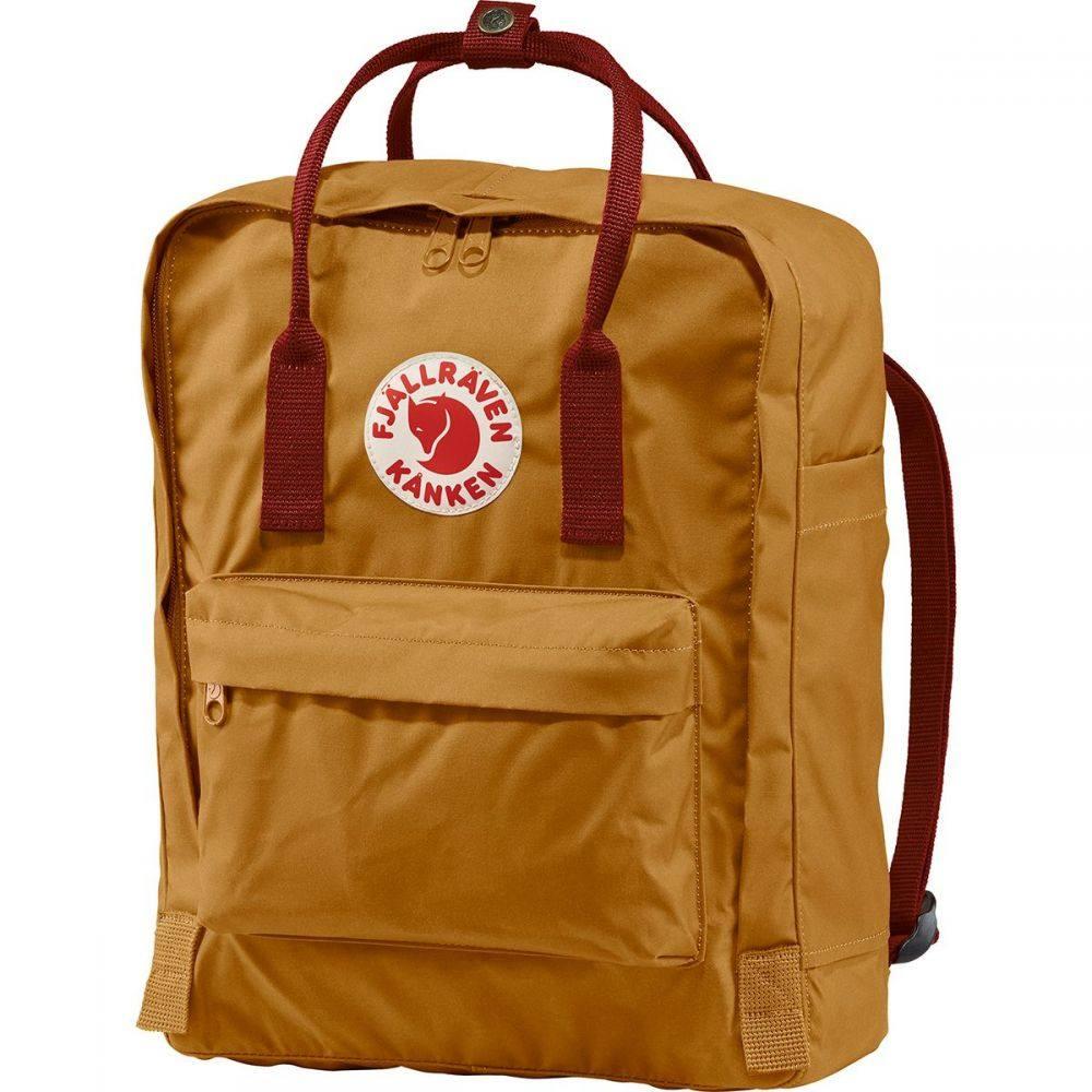 フェールラーベン Fjallraven レディース バックパック・リュック カンケン バッグ【Kanken 16L Backpack】Acorn/Ox Red