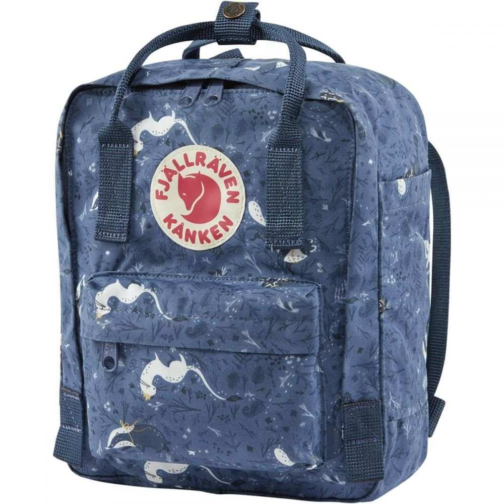フェールラーベン Fjallraven レディース バックパック・リュック カンケン バッグ【Kanken Art Mini 7L Backpack】Blue Fable