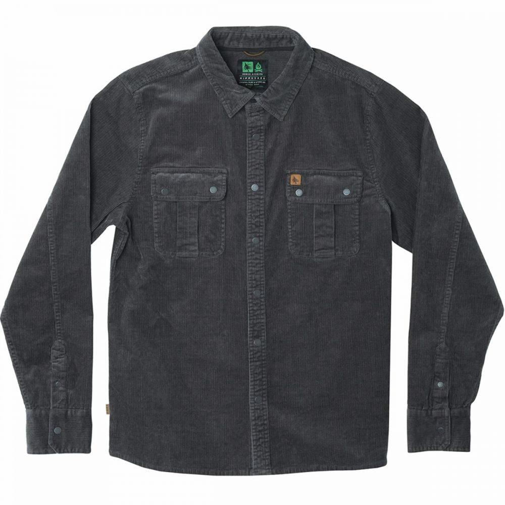ヒッピーツリー Hippy Tree メンズ シャツ トップス【Odessa Woven Shirt】Charcoal