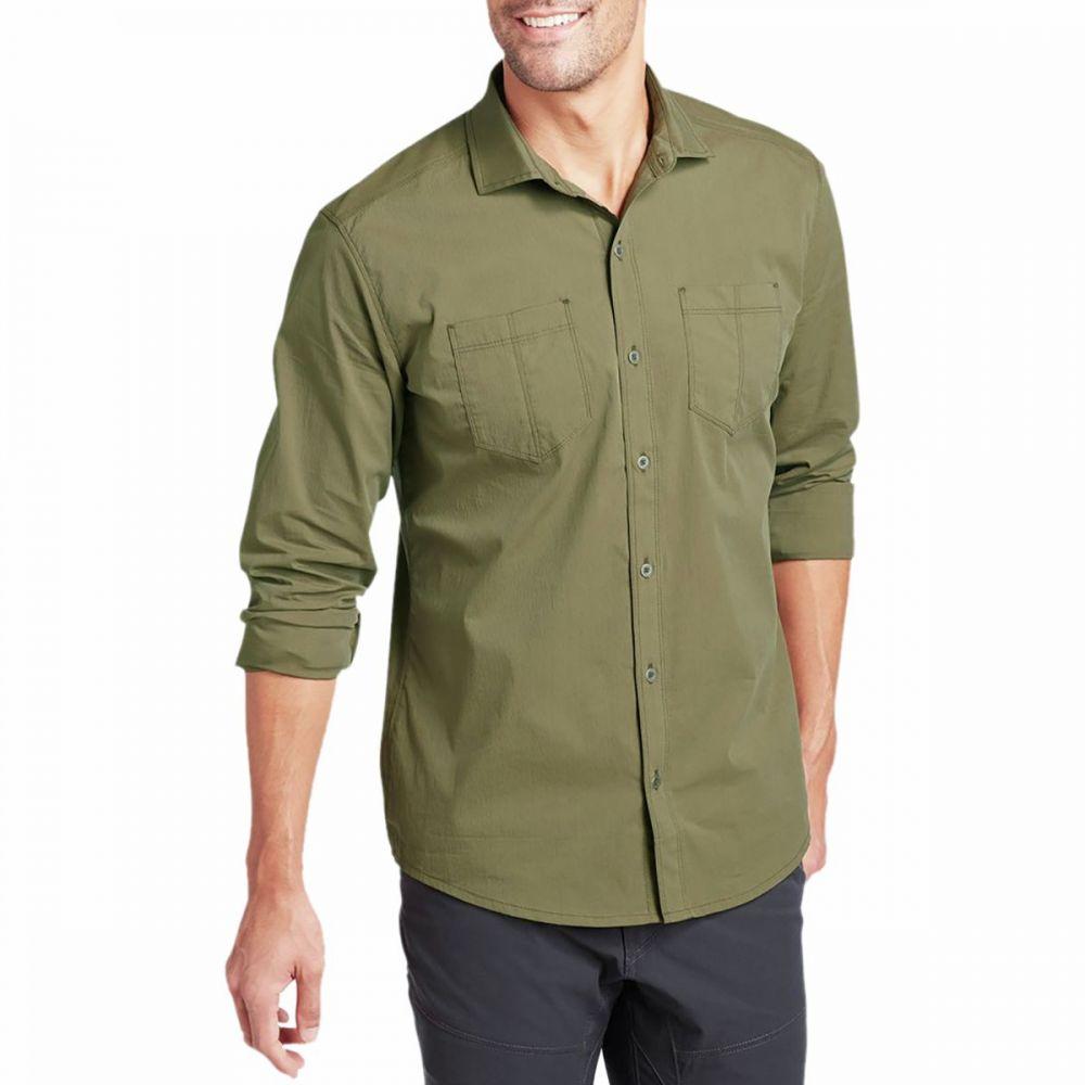 キュール KUHL メンズ シャツ トップス【Rejectr Long - Sleeve Shirt】Dark Moss