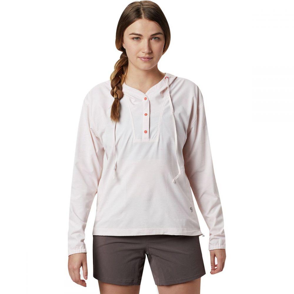 マウンテンハードウェア Mountain Hardwear レディース 長袖Tシャツ トップス【Mallorca Stretch Long - Sleeve Shirt】Solstice Red