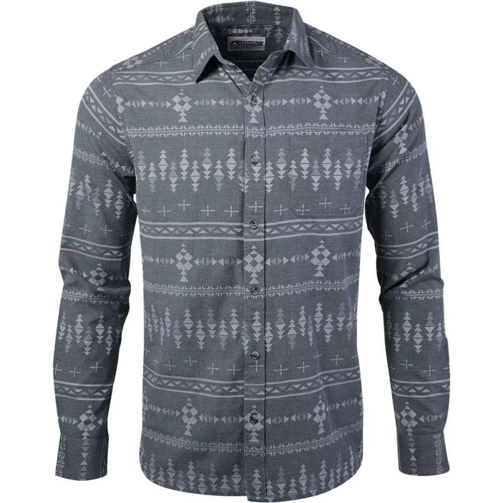 マウンテンカーキス Mountain Khakis メンズ シャツ フランネルシャツ トップス【Stash Flannel Shirt】Smoke