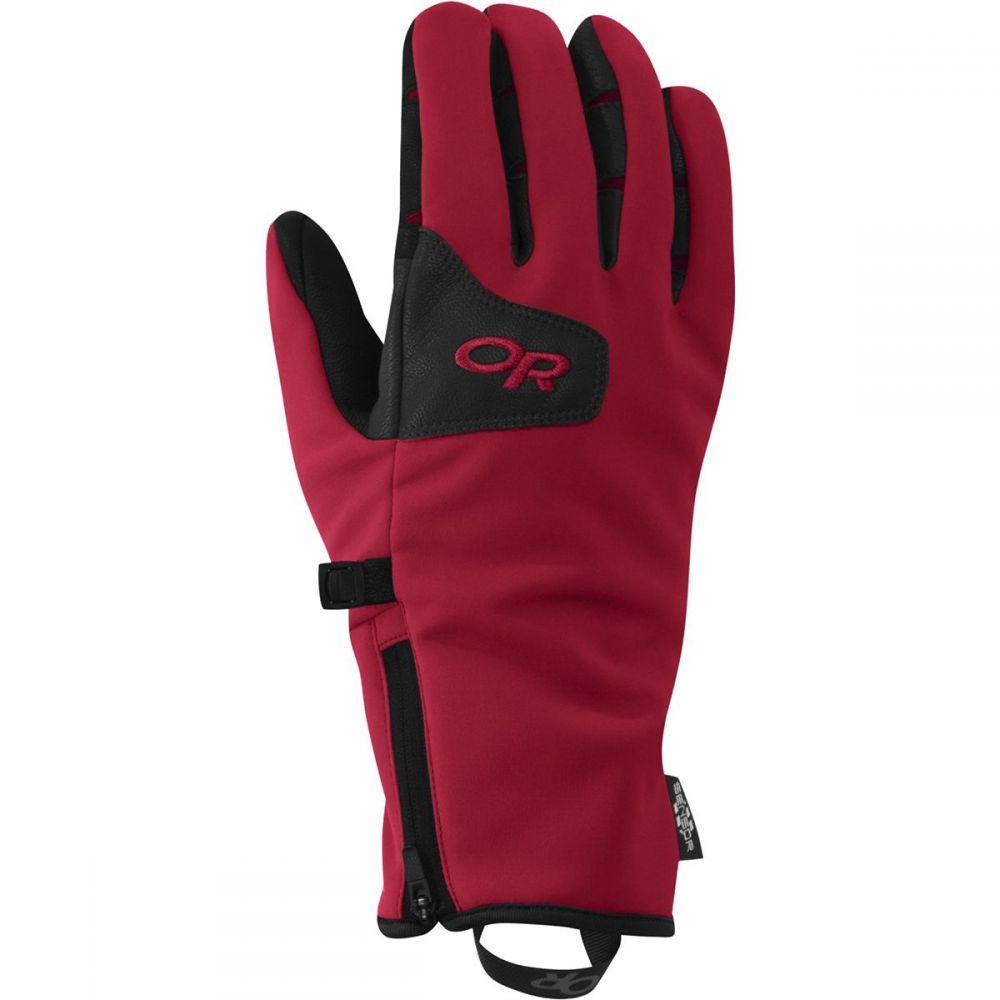 アウトドアリサーチ Outdoor Research メンズ 手袋・グローブ 【StormTracker Sensor Glove】Chili