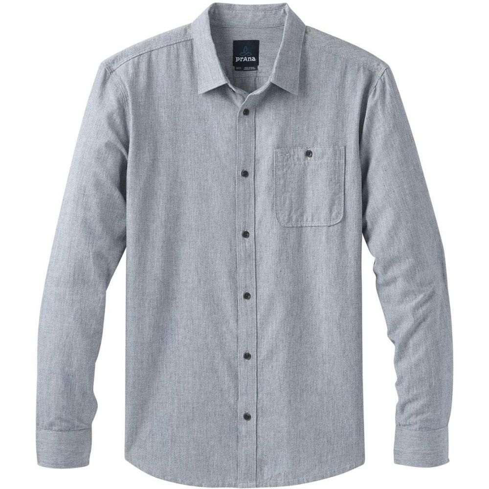 プラーナ Prana メンズ シャツ トップス【Jaffra Long - Sleeve Shirt】Nautical