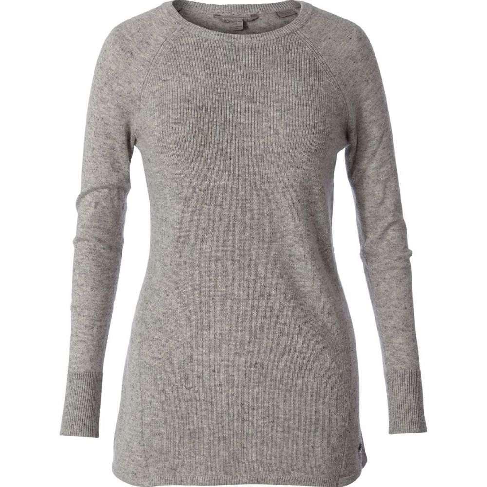 ロイヤルロビンズ Royal Robbins レディース ニット・セーター トップス【Highlands Pullover Sweater】Sand Dollar Heather