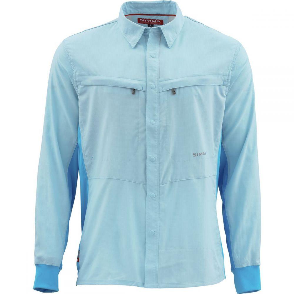 シムズ Simms メンズ シャツ トップス【Intruder BiComp Shirt】Mist