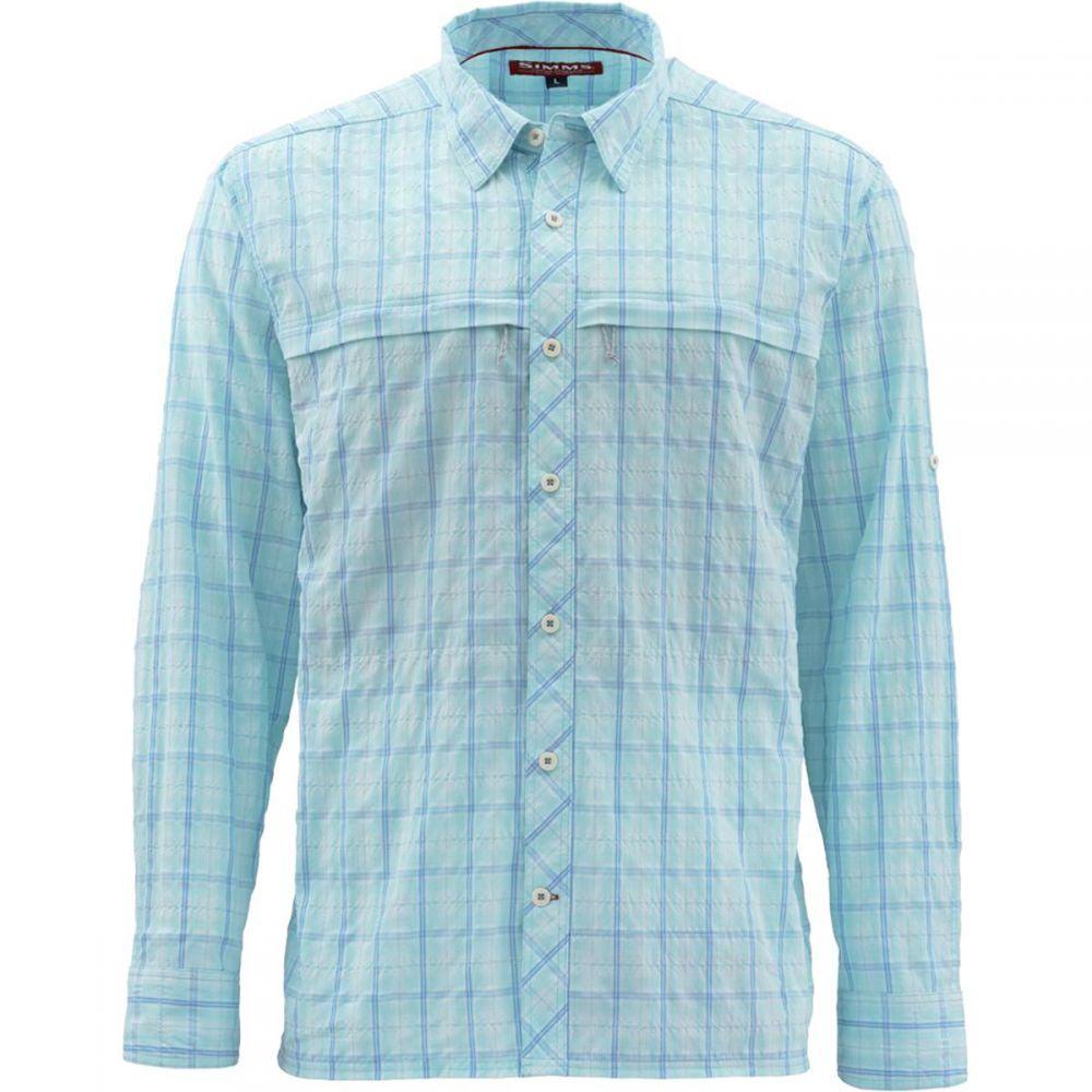 シムズ Simms メンズ 釣り・フィッシング トップス【Stone Cold Long - Sleeve Shirt】Sea Breeze Plaid