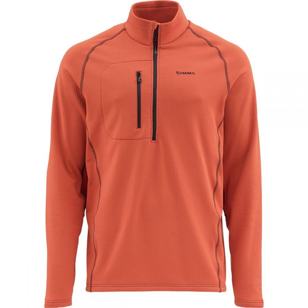 シムズ Simms メンズ フリース ミッドレイヤー トップス【Fleece Midlayer Jacket】Simms Orange
