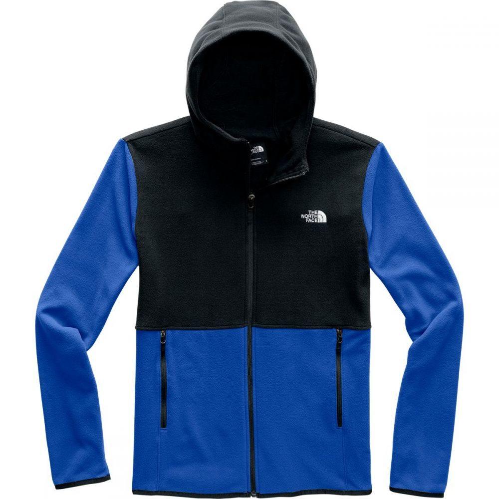 ザ ノースフェイス The North Face メンズ フリース フード トップス【TKA Glacier Full - Zip Hooded Fleece Jacket】Tnf Blue/Tnf Black