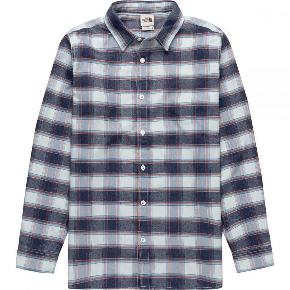 ザ ノースフェイス The North Face メンズ シャツ トップス【ThermoCore Long - Sleeve Shirt】Tin Grey Toast Plaid