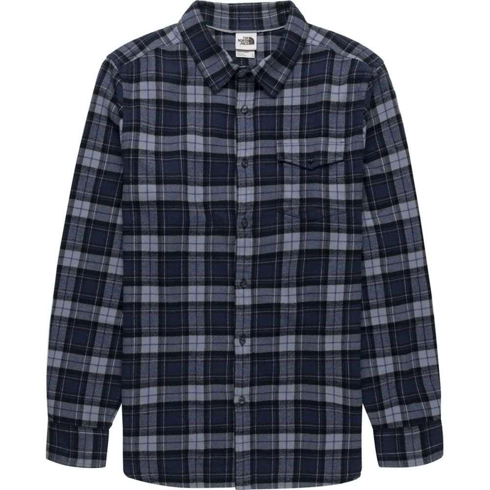 ザ ノースフェイス The North Face メンズ シャツ フランネルシャツ トップス【Arroyo Long - Sleeve Flannel Shirt】Blue Wing Teal Ravine Plaid