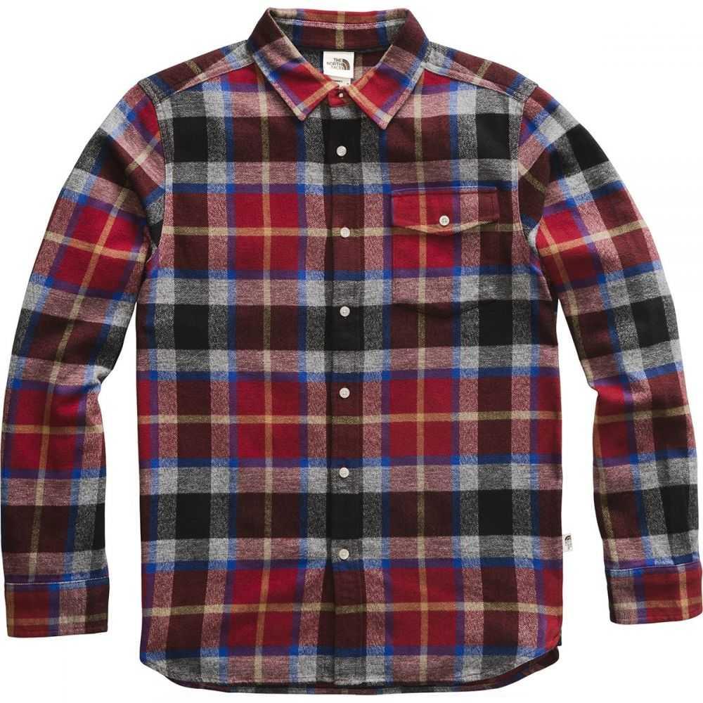ザ ノースフェイス The North Face メンズ シャツ フランネルシャツ トップス【Arroyo Long - Sleeve Flannel Shirt】Cardinal Red Speed Wagon Plaid