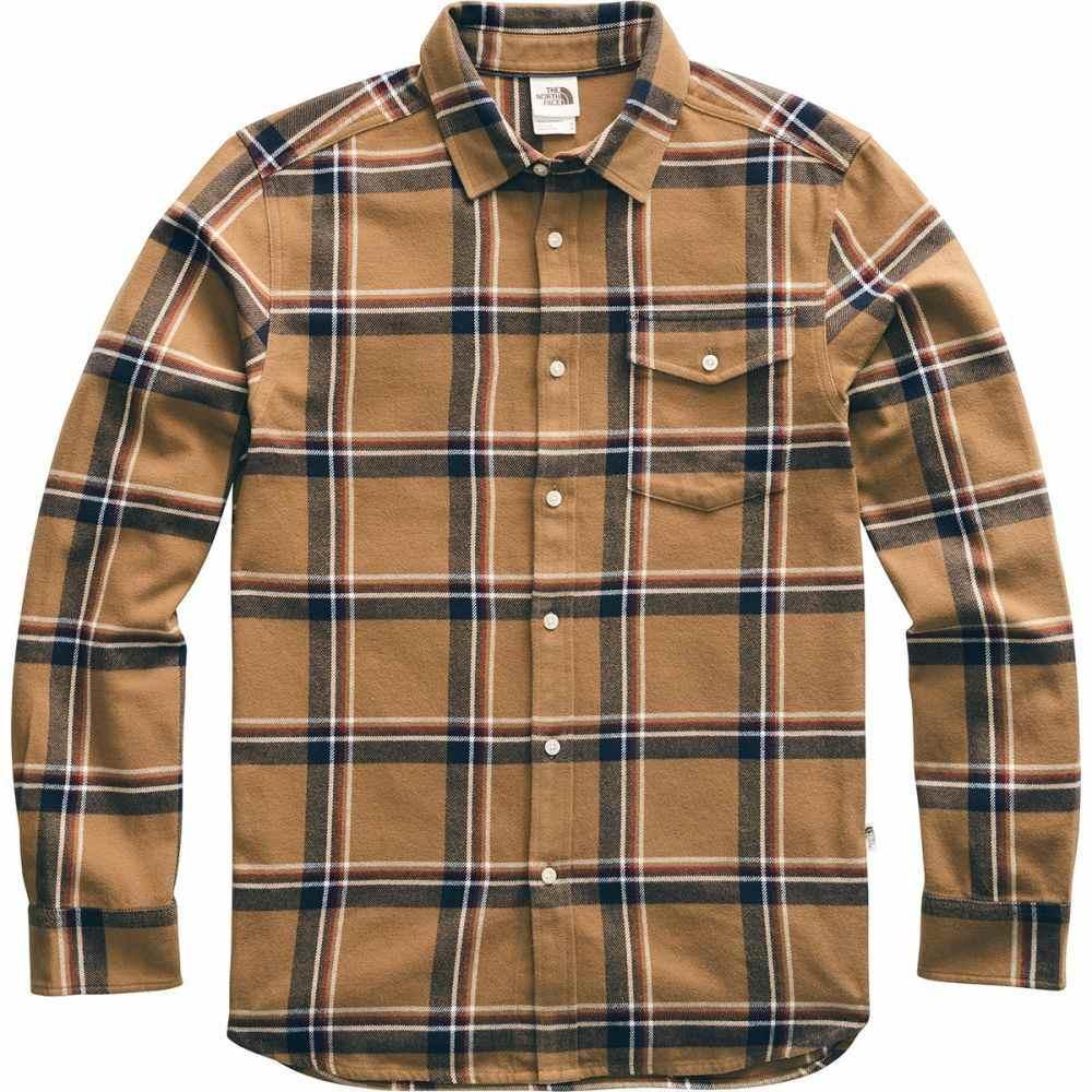 ザ ノースフェイス The North Face メンズ シャツ フランネルシャツ トップス【Arroyo Long - Sleeve Flannel Shirt】Cedar Brown Gully Plaid