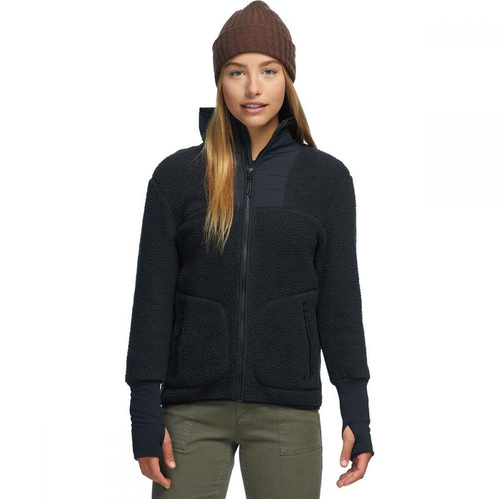バックカントリー Backcountry レディース フリース トップス【Sherpa Fleece Jacket】Black