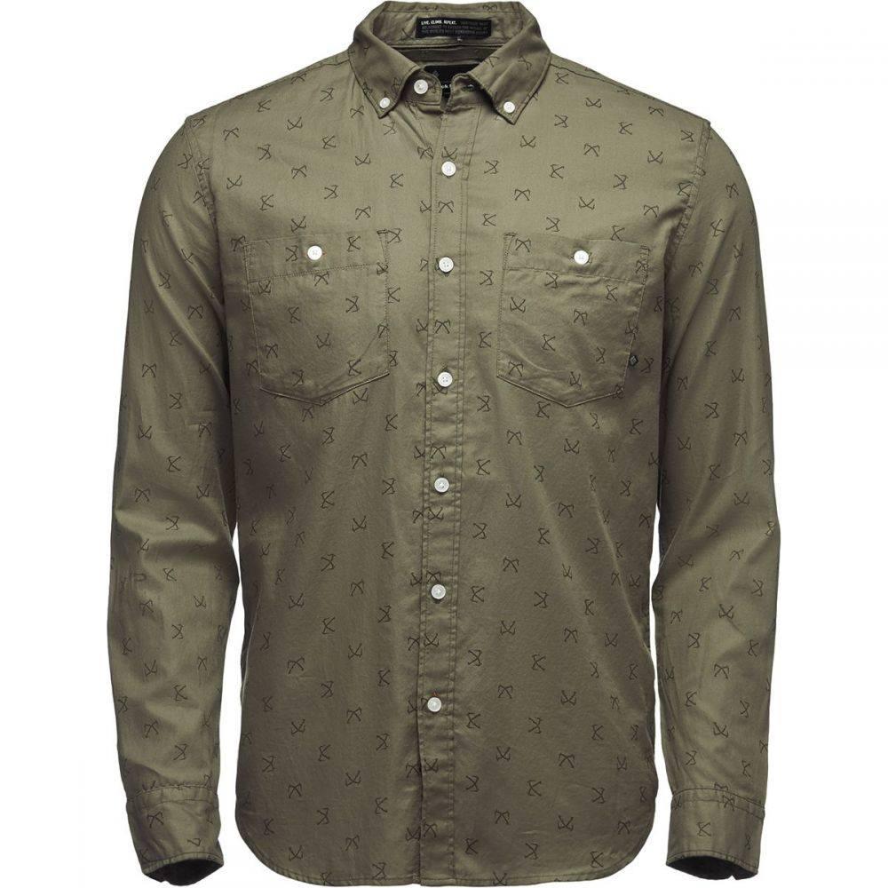 ブラックダイヤモンド Black Diamond メンズ シャツ トップス【Solution Long - Sleeve Shirt】Sergeant Print