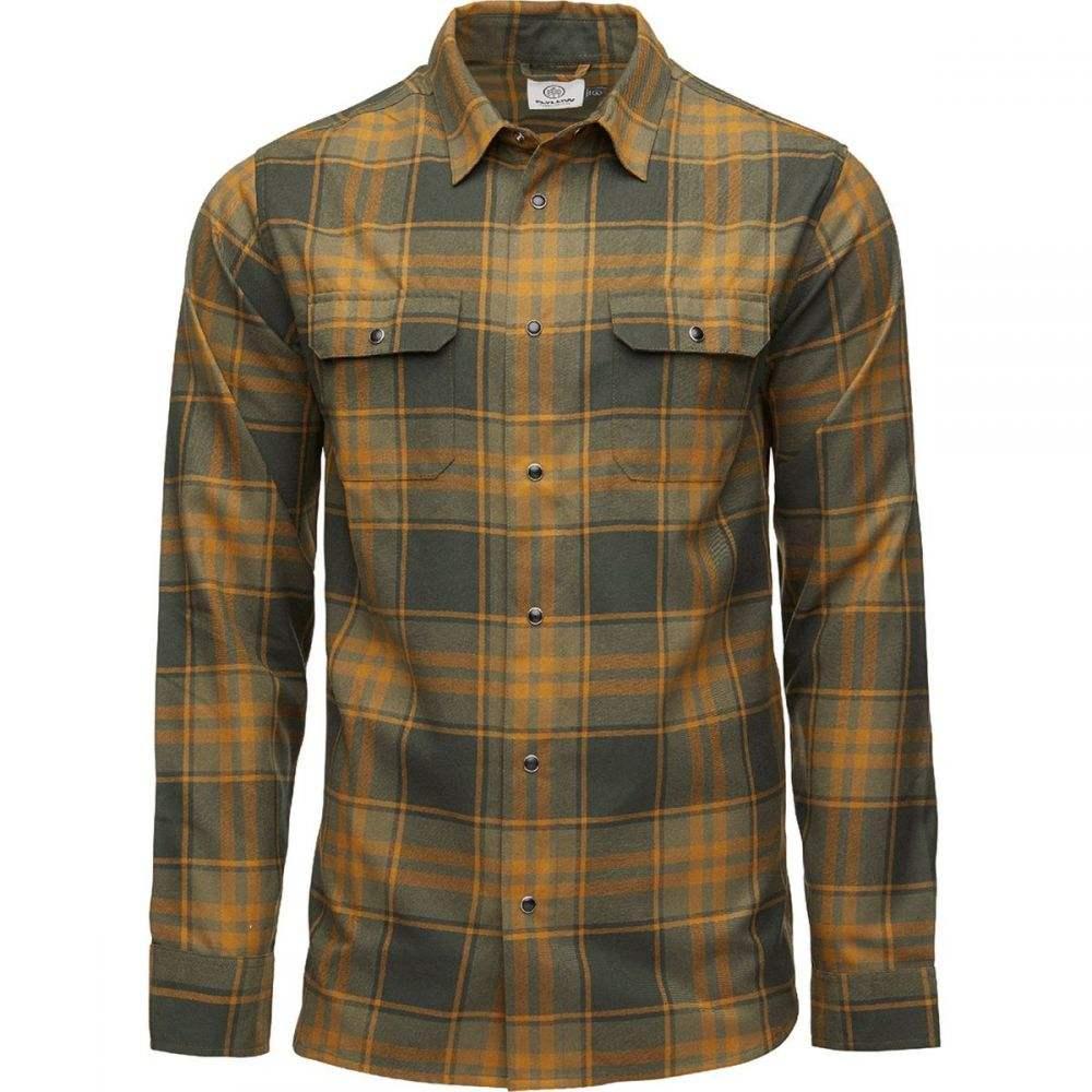 フライロウ Flylow メンズ シャツ フランネルシャツ トップス【Handlebar Tech Flannel Shirt】Kombu/Rye Plaid