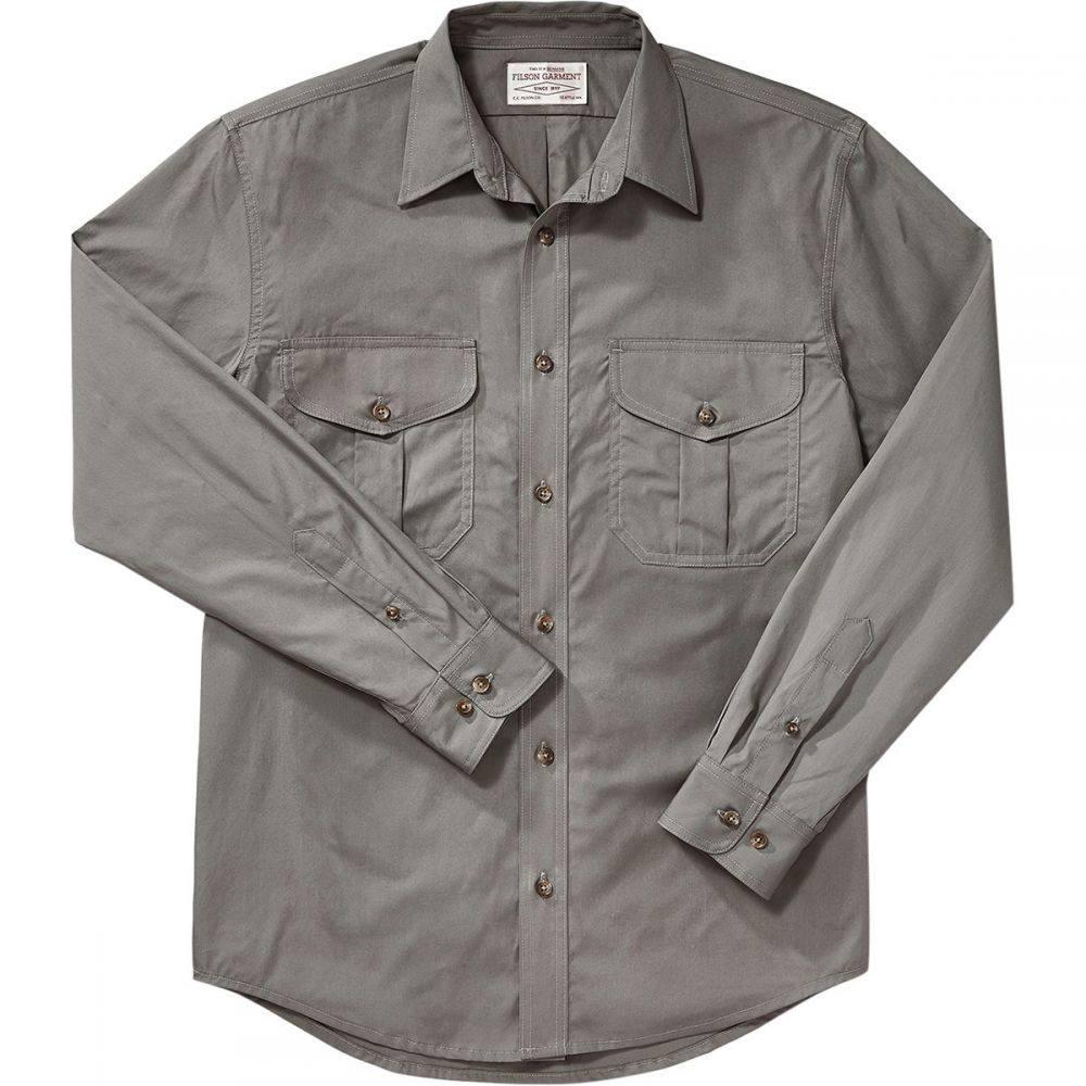 フィルソン Filson メンズ シャツ トップス【s Feather Cloth Long - Sleeve Shirt】Light Olive