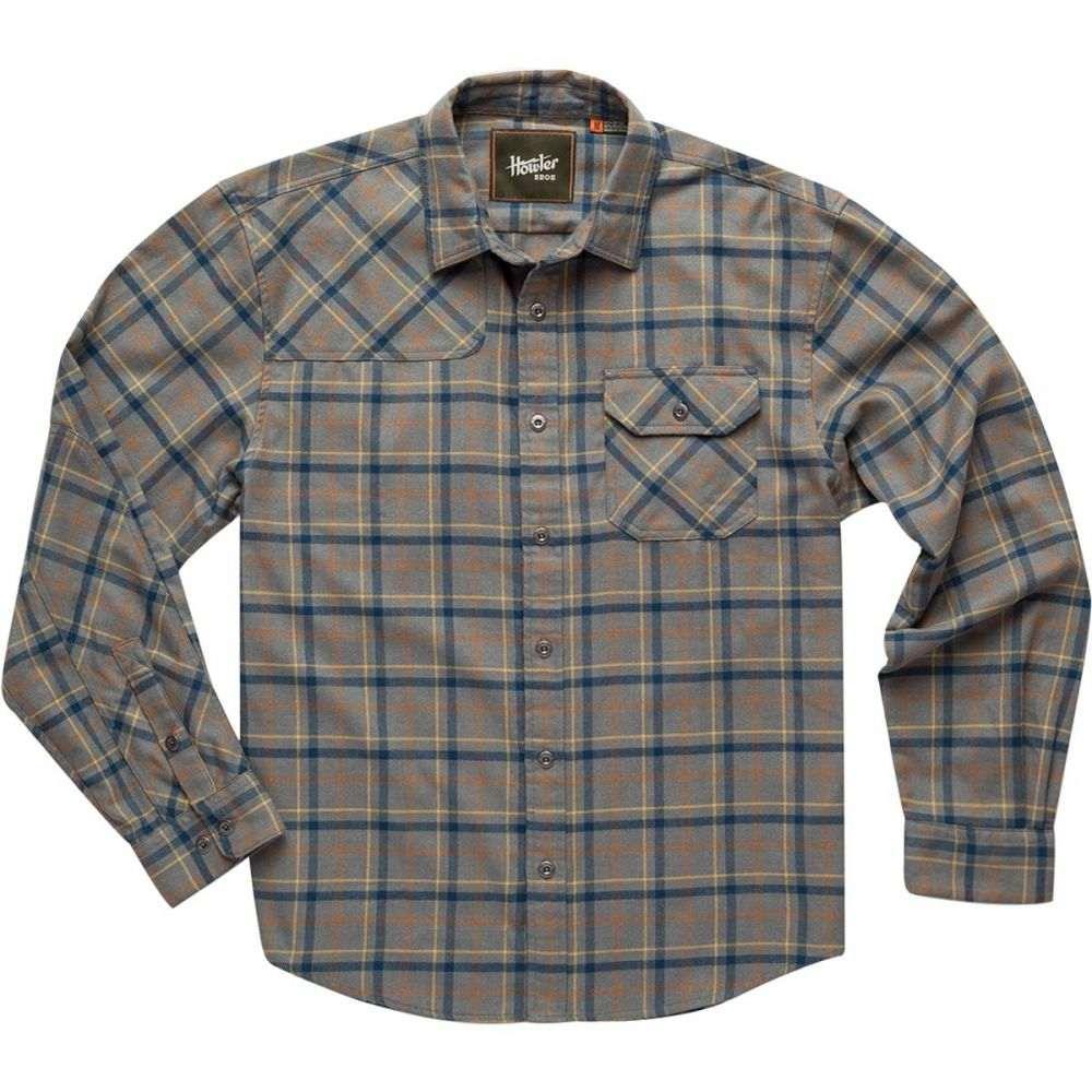 ホウラーブラザーズ Howler Brothers メンズ シャツ フランネルシャツ トップス【Harkers Flannel Shirt】Frio Plaid: Pigeon Grey