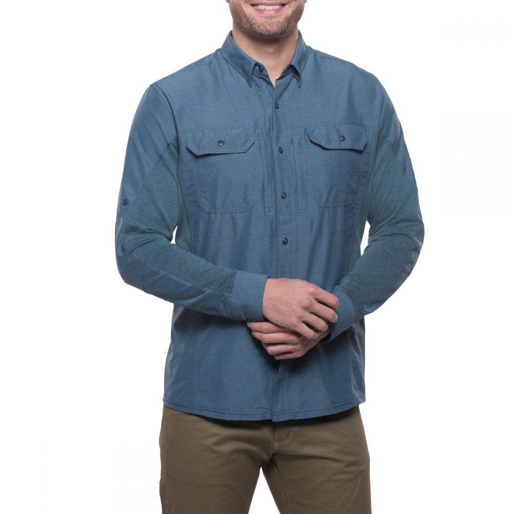 キュール KUHL メンズ シャツ トップス【Airspeed Long - Sleeve Shirt】Pirate Blue
