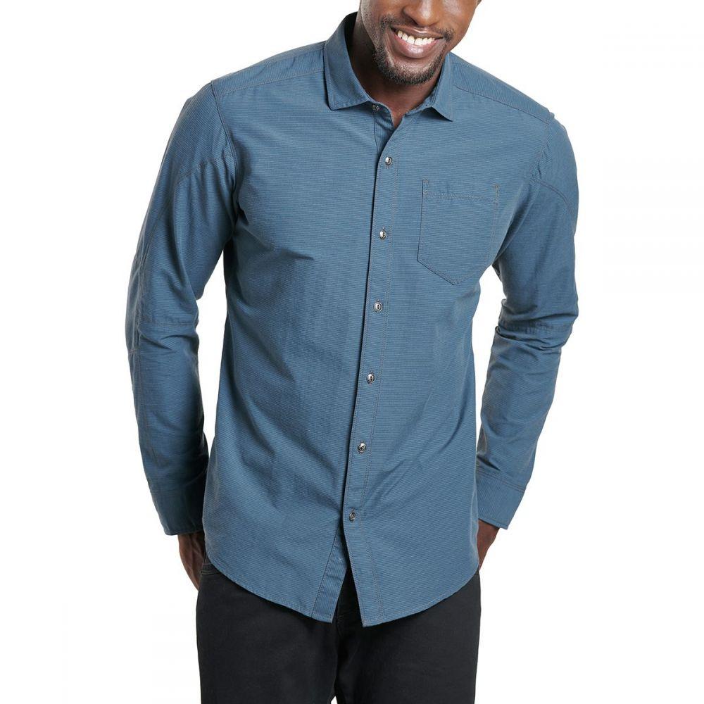 キュール KUHL メンズ シャツ トップス【Stoke Shirt】Blue Depths