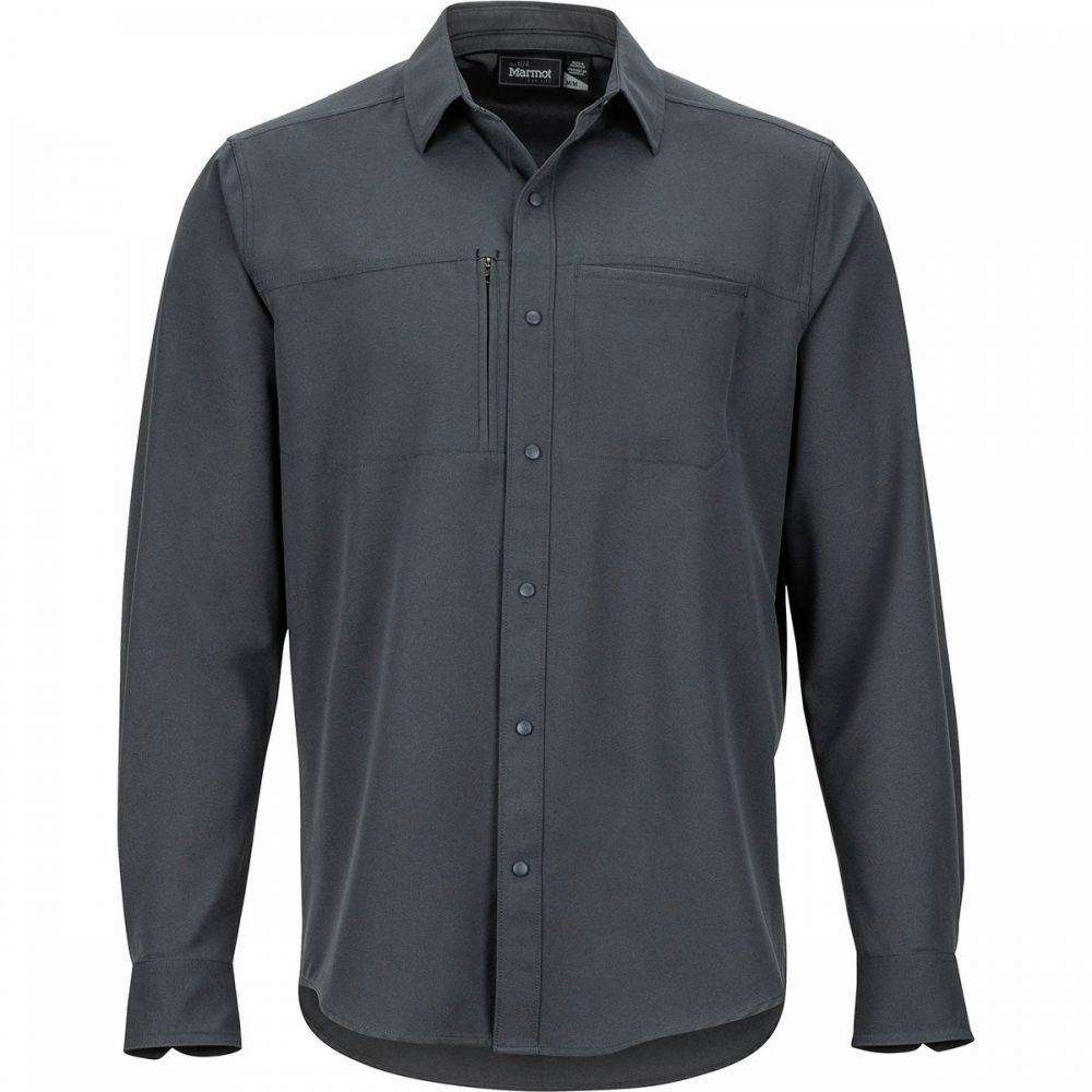マーモット Marmot メンズ シャツ トップス【Lisgar Long - Sleeve Shirt】Dark Steel
