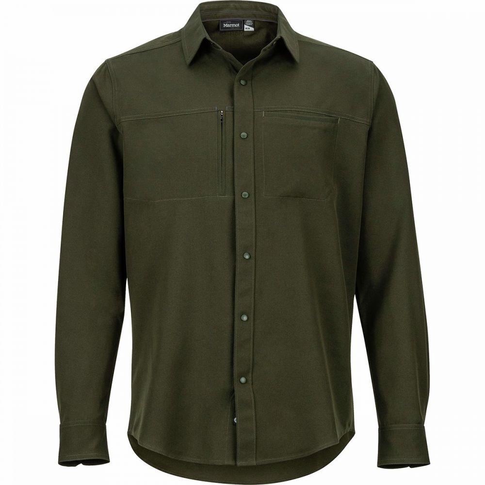 マーモット Marmot メンズ シャツ トップス【Lisgar Long - Sleeve Shirt】Rosin Green