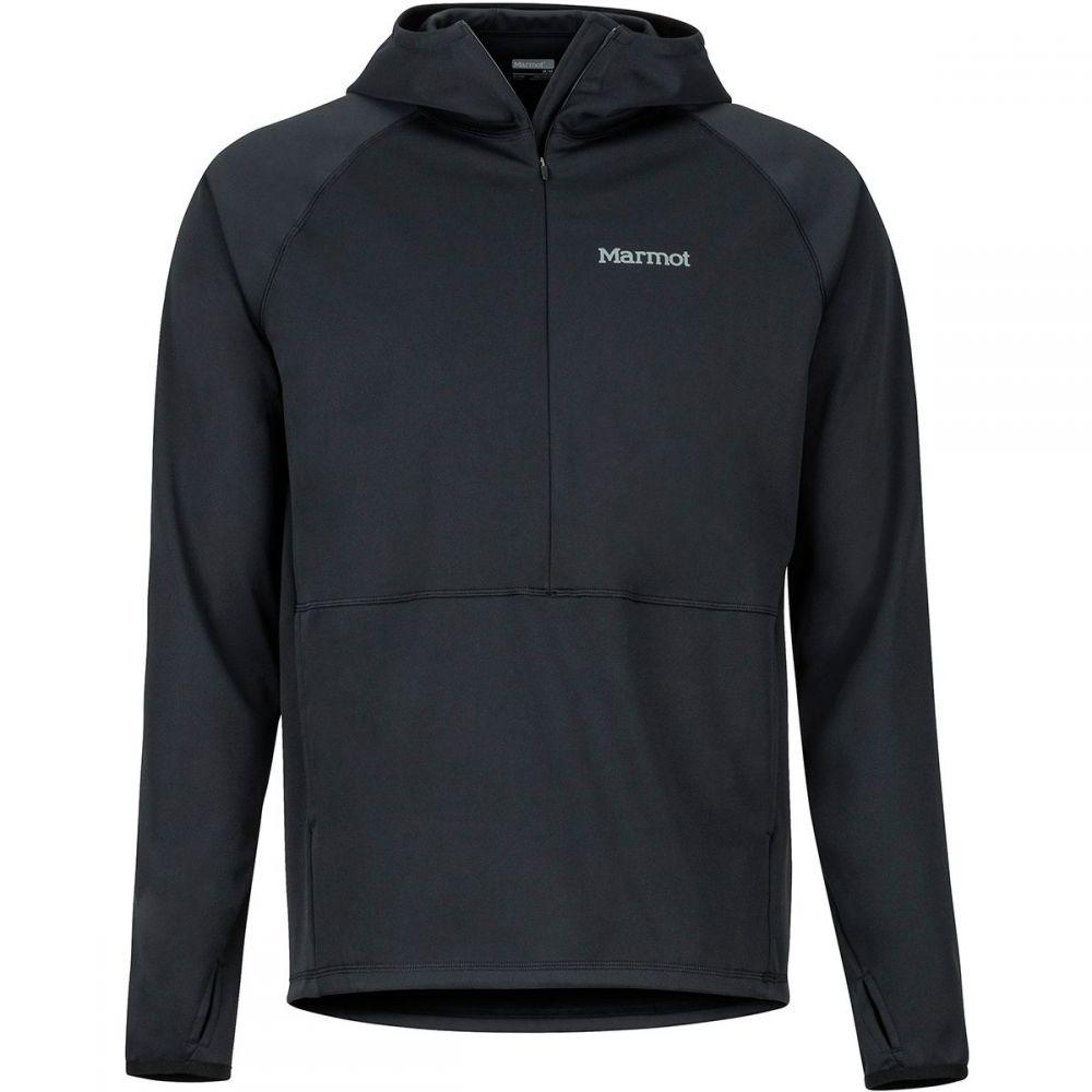 マーモット Marmot メンズ ジャケット ハーフジップ フード アウター【Zenyatta 1/2 - Zip Hooded Jacket】Black