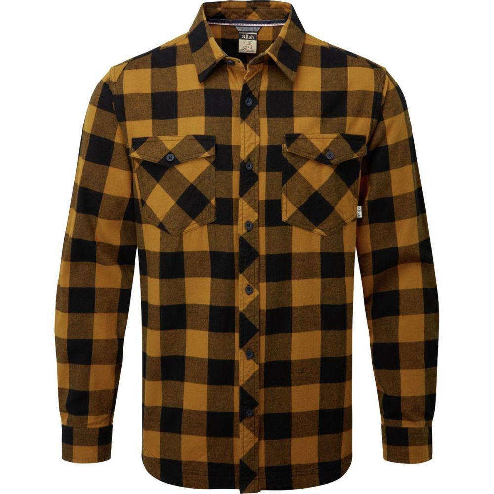 ラブ Rab メンズ シャツ フランネルシャツ トップス【Boundary Flannel Shirt】Footprint/Grey