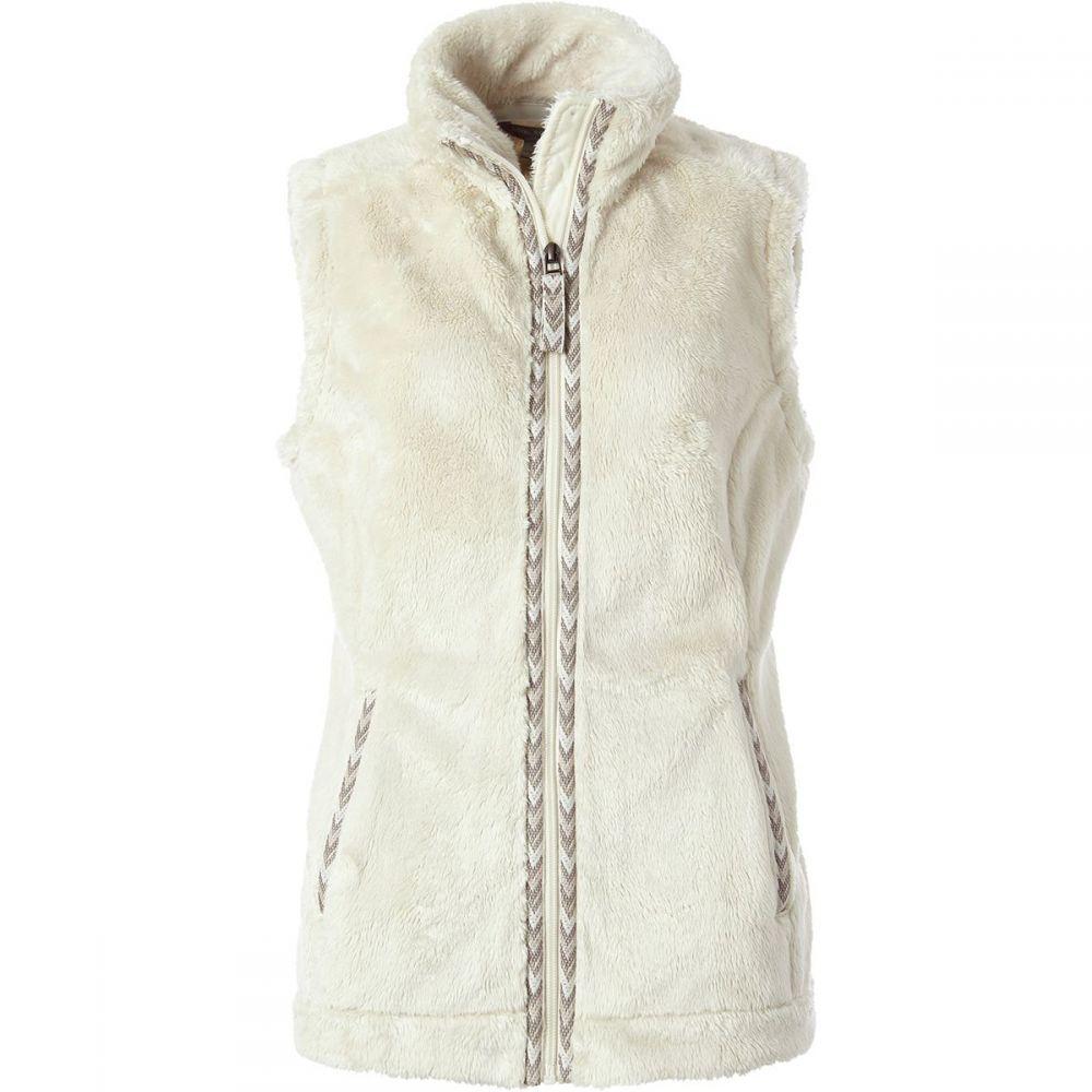 ロイヤルロビンズ Royal Robbins レディース ベスト・ジレ トップス【Samoyed Fleece Vest】Creme