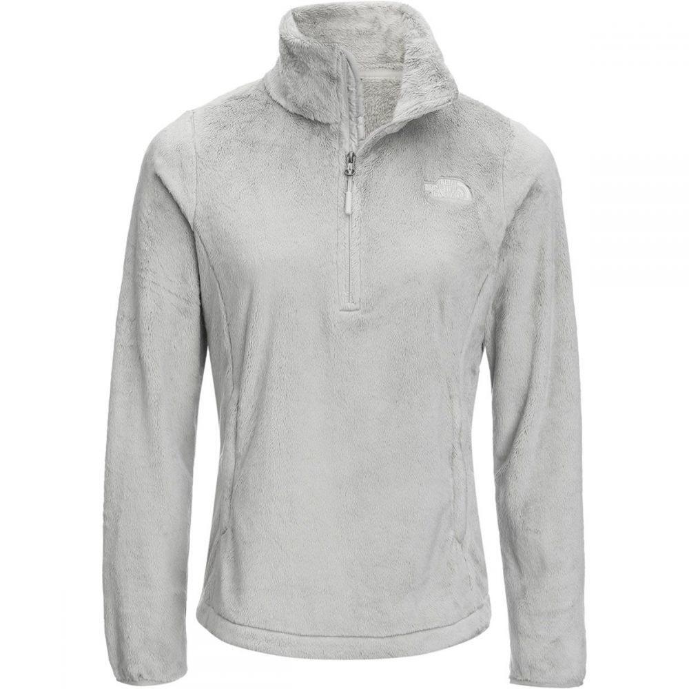ザ ノースフェイス The North Face レディース フリース トップス【Osito 1/4 - Zip Fleece Pullover】Dove Grey