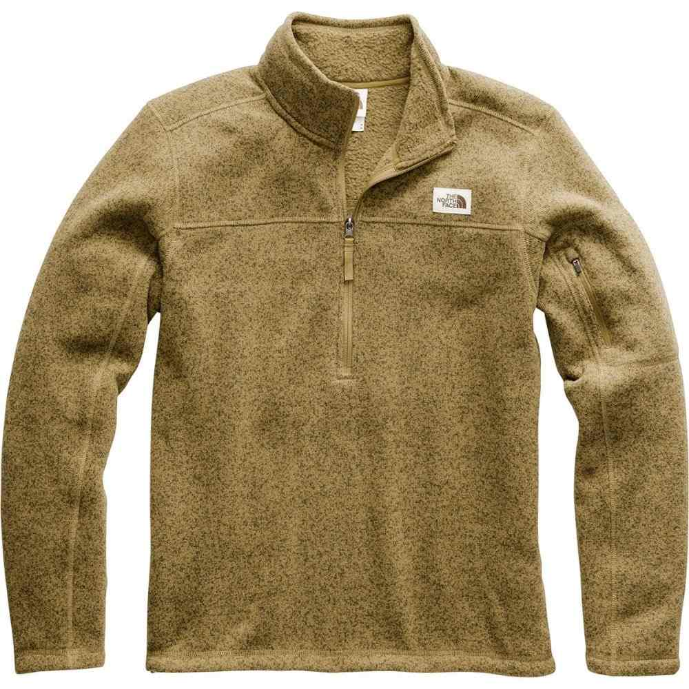 ザ ノースフェイス The North Face メンズ フリース トップス【Gordon Lyons 1/4 - Zip Fleece Pullover】British Khaki Heather