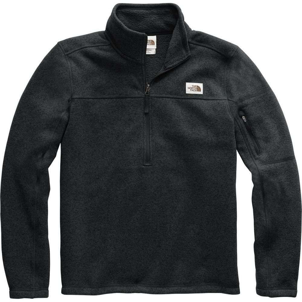 ザ ノースフェイス The North Face メンズ フリース トップス【Gordon Lyons 1/4 - Zip Fleece Pullover】Tnf Black Heather